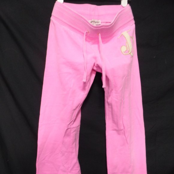 JUICY COUTURE, size 12, pink sweatpants, GUC